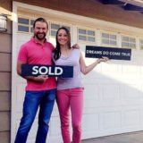Kristi and Eli, home buyers